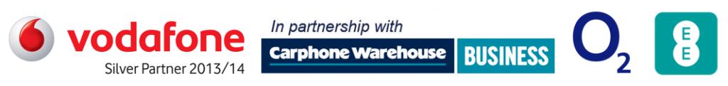 vodafone silver partner carphone warehouse business o2 ee